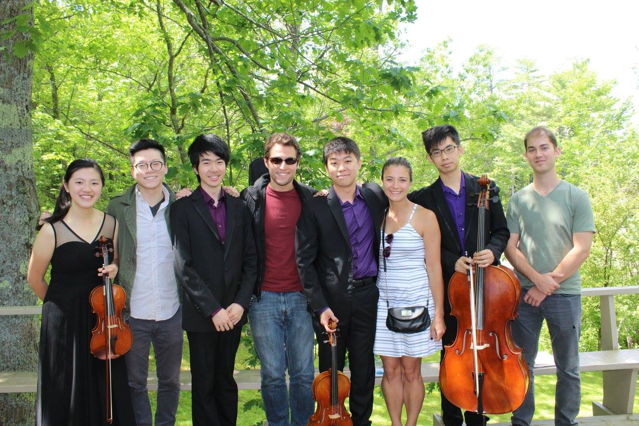 With the Dover Quartet (2016)