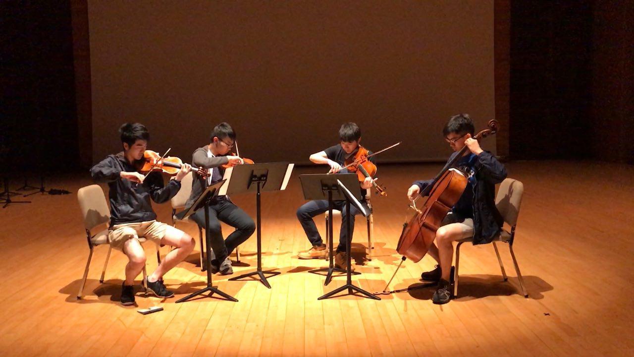 Rehearsing at the Hong Kong Jockey Club Amphitheatre at HKAPA