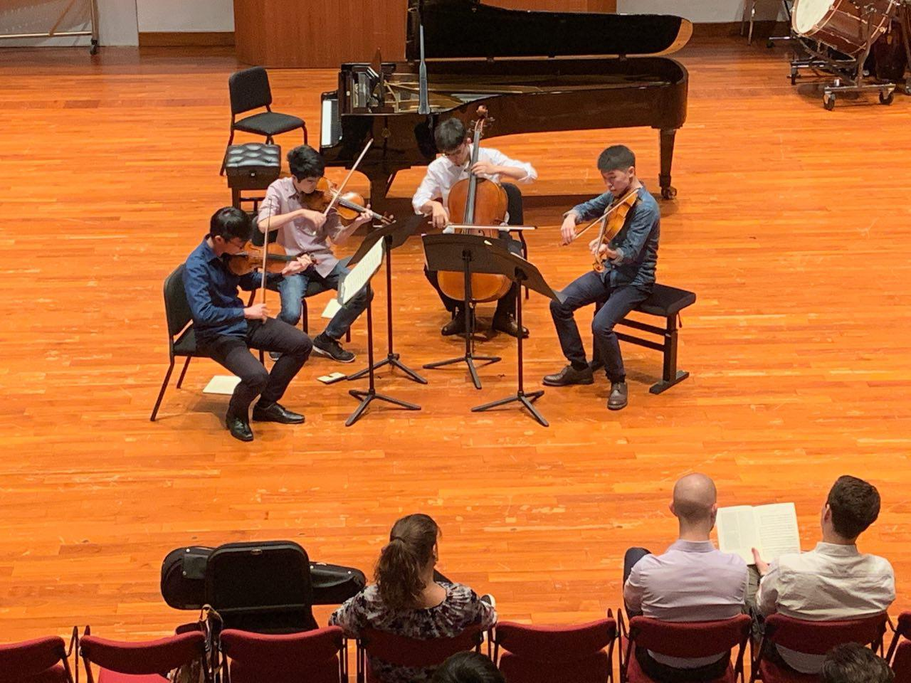 Master Class with Dover Quartet (2019)