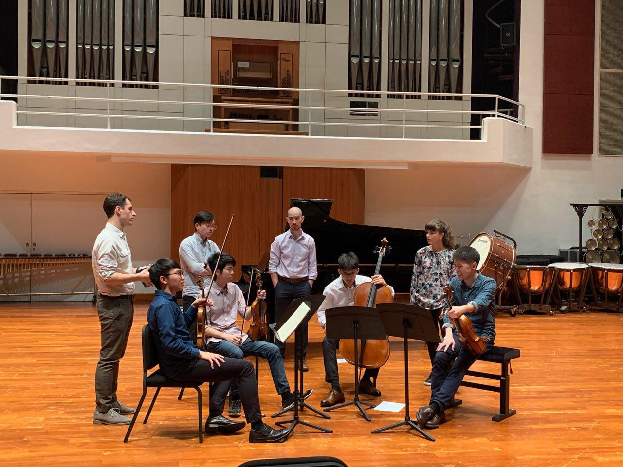 With Dover Quartet (2019)
