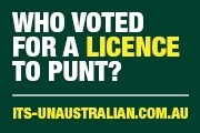 Clubs Australia ran a campaign implying that if the new pokies reforms came in you would need a 'licence to punt'.  And the industry ran an effective 'political' style campaign see  here .