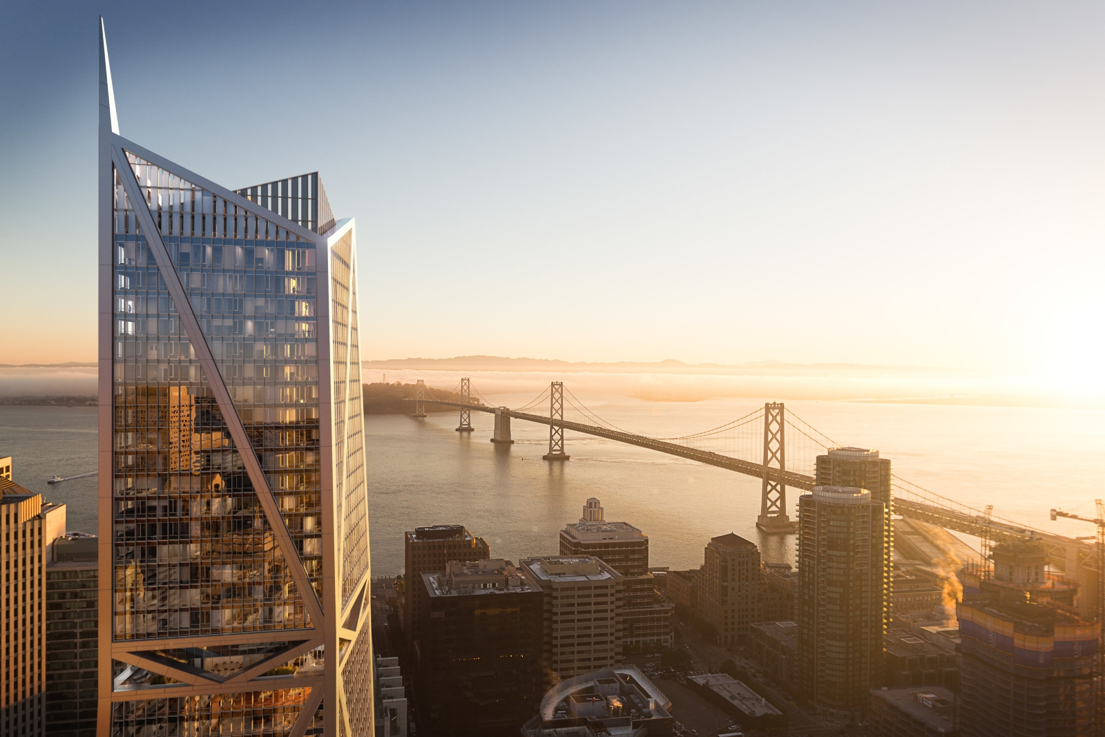 Infinity Towers in San Francisco
