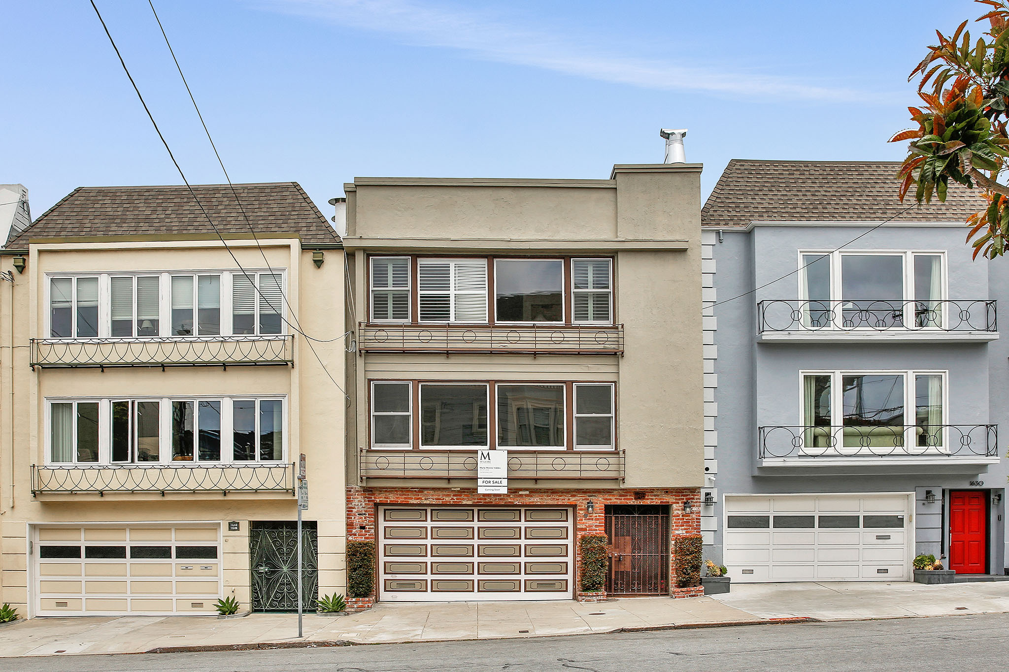 1640-1642 Greenwich Street in San Francisco sold by Alek Keytiyev Realtor Real Estate Agent