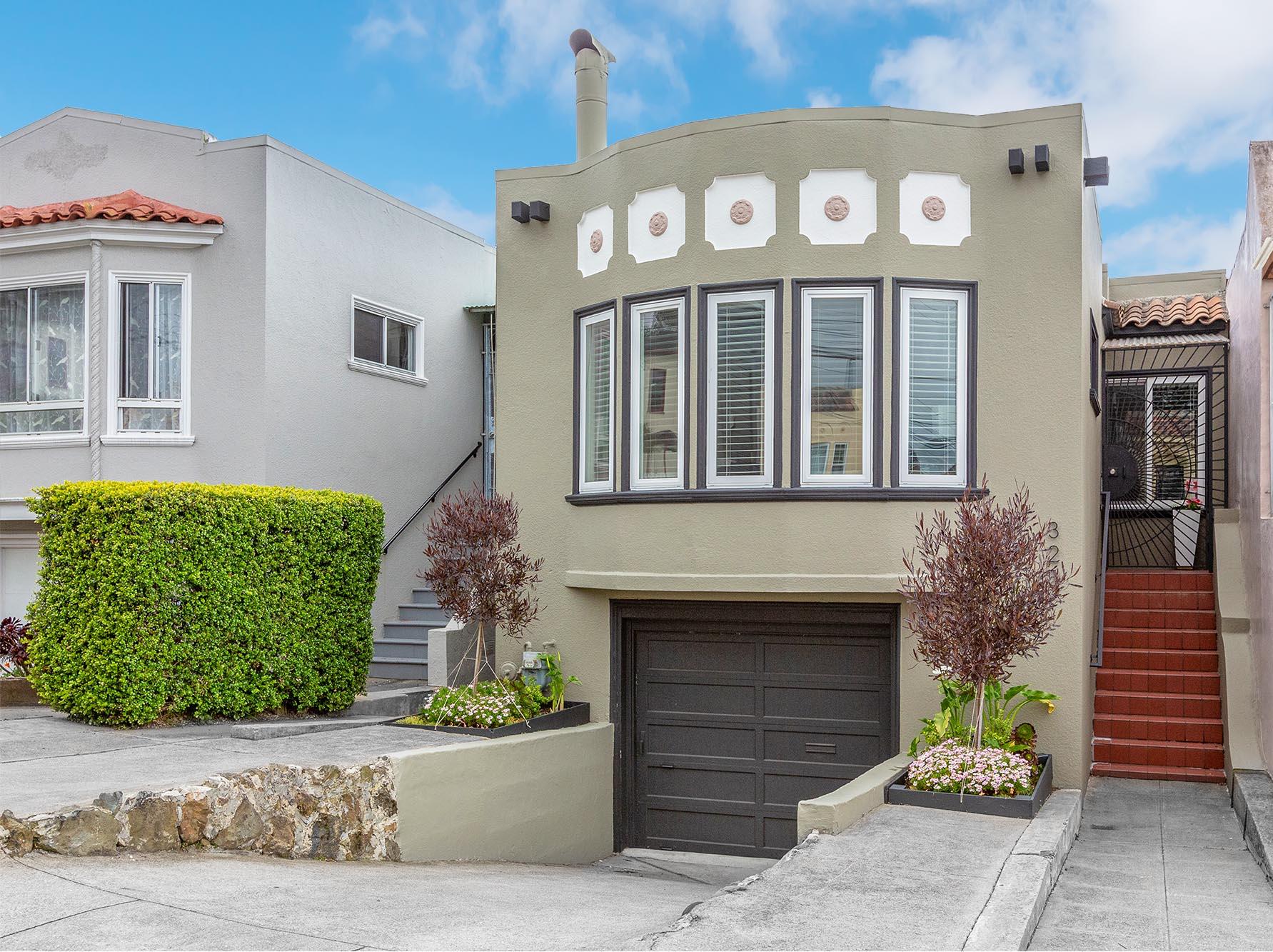 Home for Sale in San Francisco at 323 Byxbee Street Presented by Alek Keytiyev Realtor
