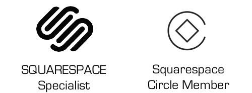 Squarespace Specialist & Circle Member Icon Badges