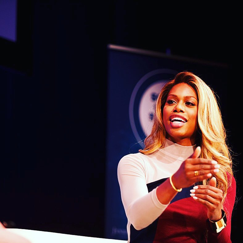 Laverne Cox at the Social Good Summit
