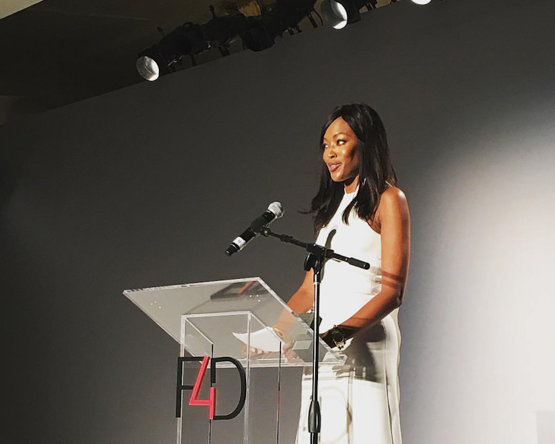 Naomi Campbell Honored by Fashion4Development