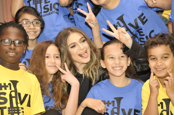 Singer/Songwriter Daya Joins VH1 Save the Music Foundation in the Bronx