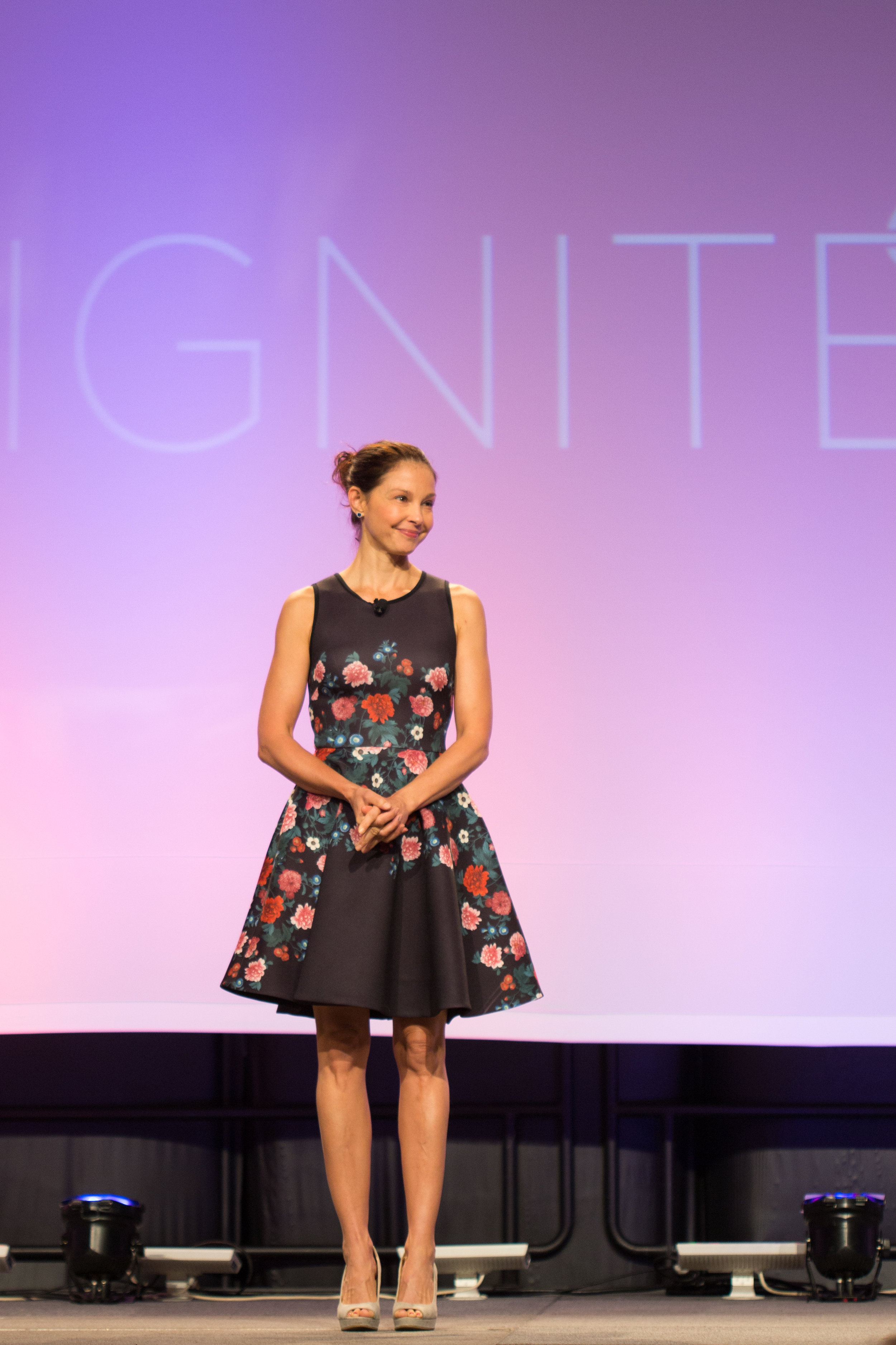 Ashley Judd Speaking at Athena Women's Leadership Conference