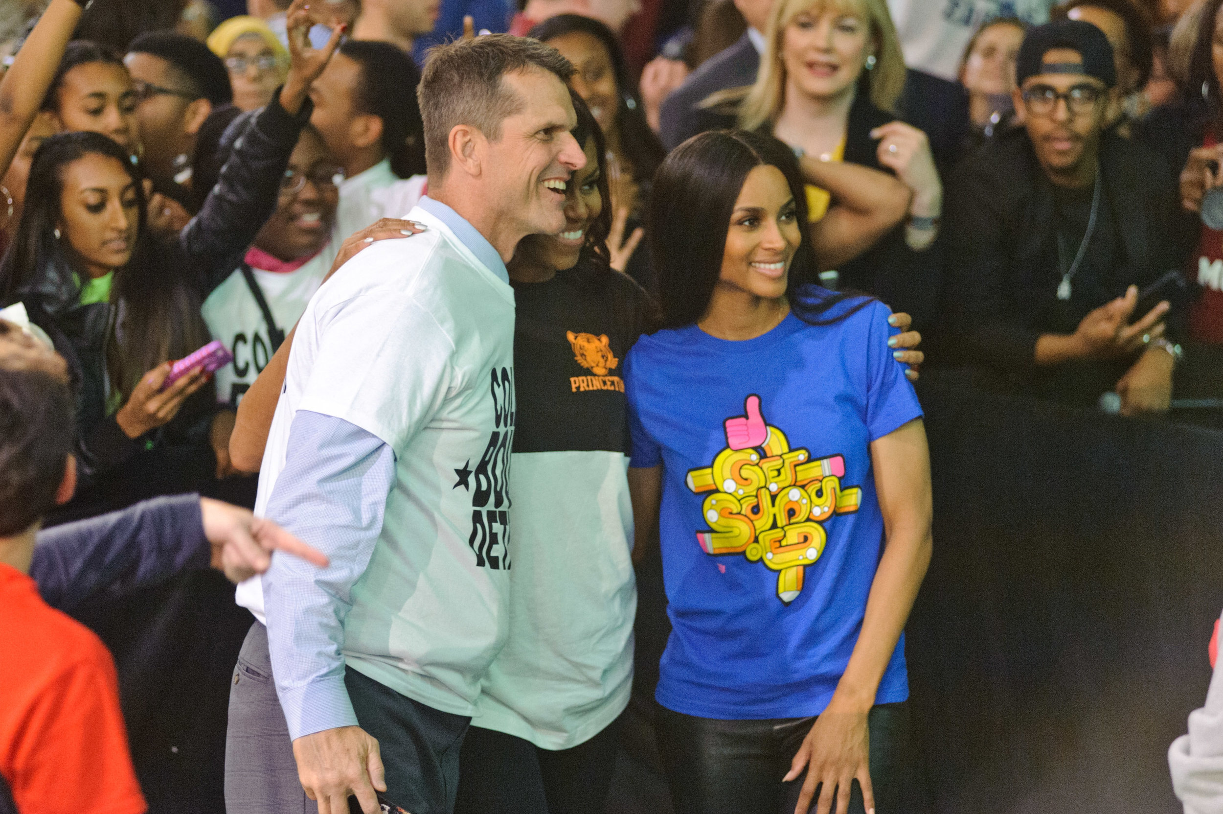 Ciara Joins First Lady Michelle Obama for College Signing Day on behalf of Get Schooled