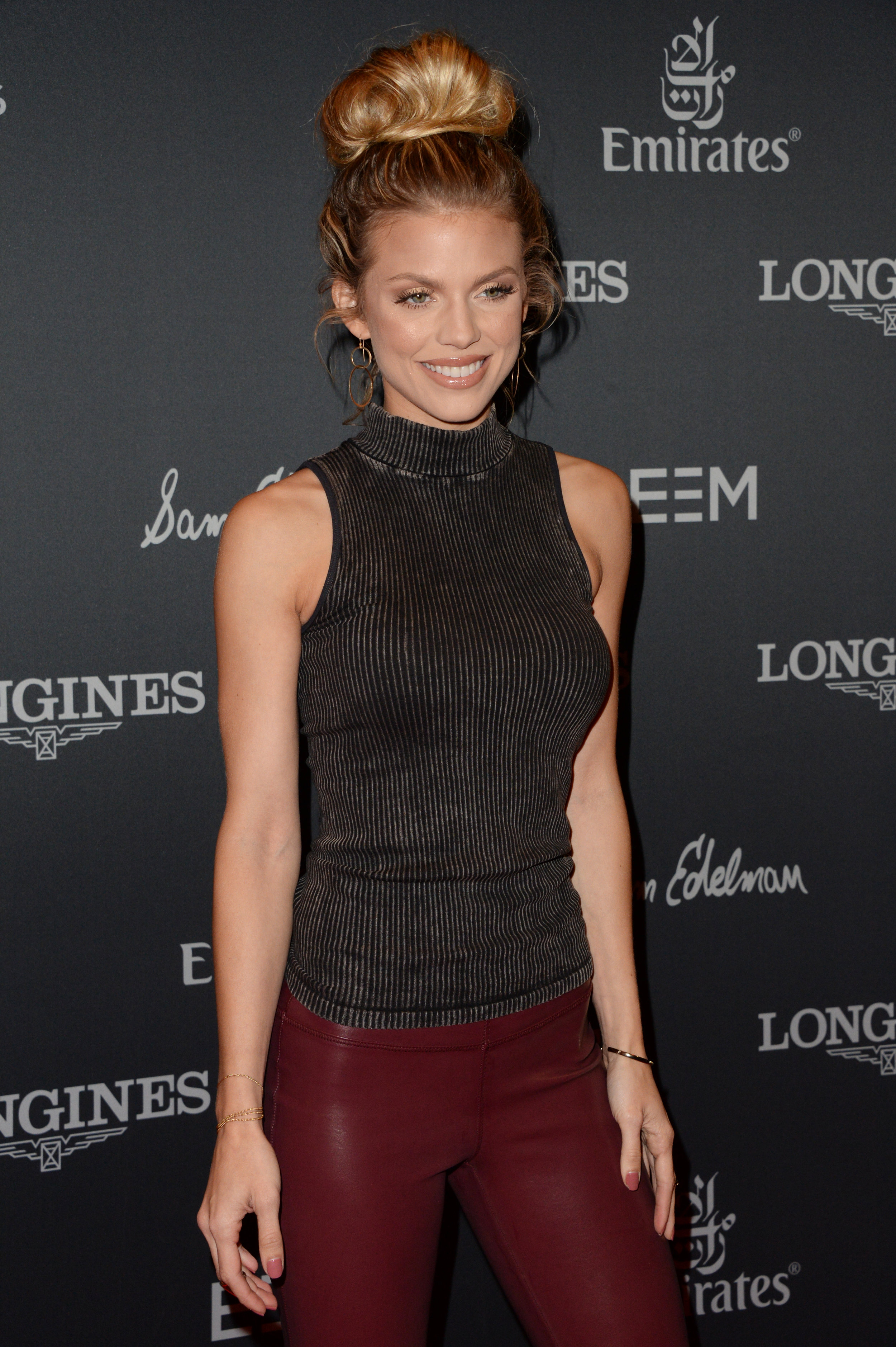 AnnaLynne McCord at the Longines Masters in Los Angeles