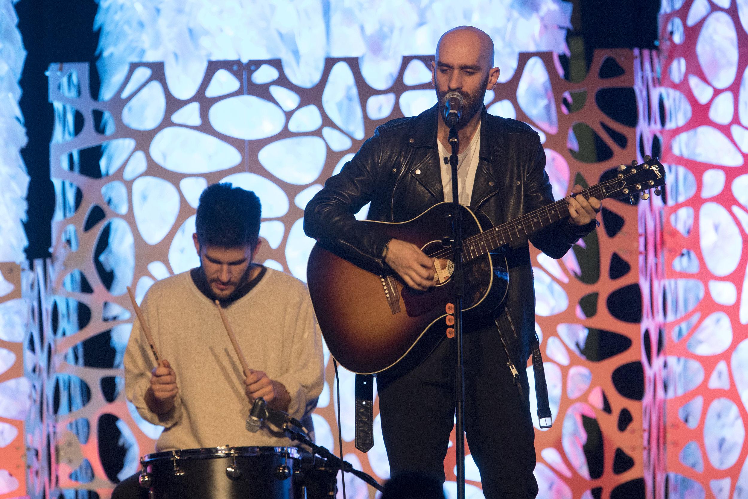 X Ambassadors perform at Make-A-Wish LA Gala