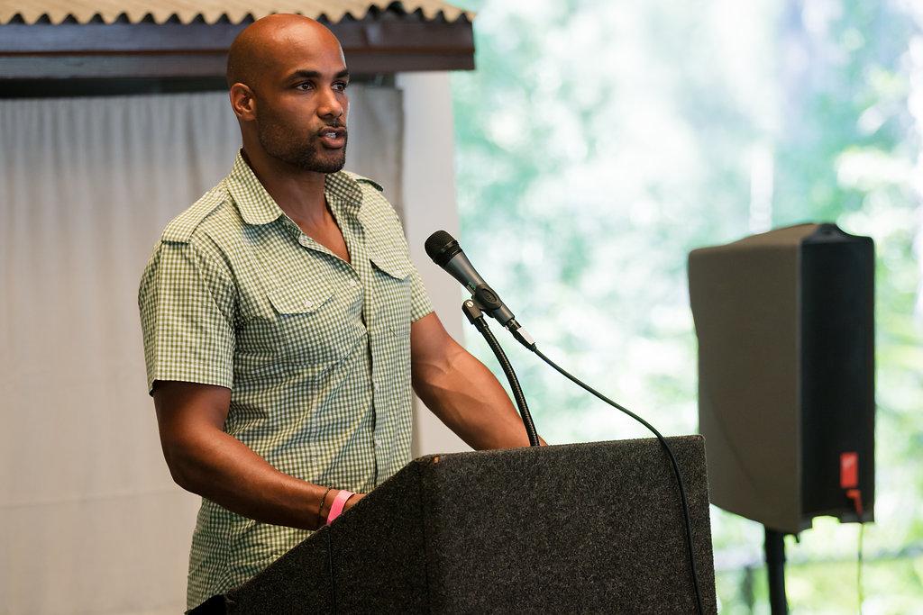 Boris Kodjoe hosts Prevent Child Abuse America event in LA