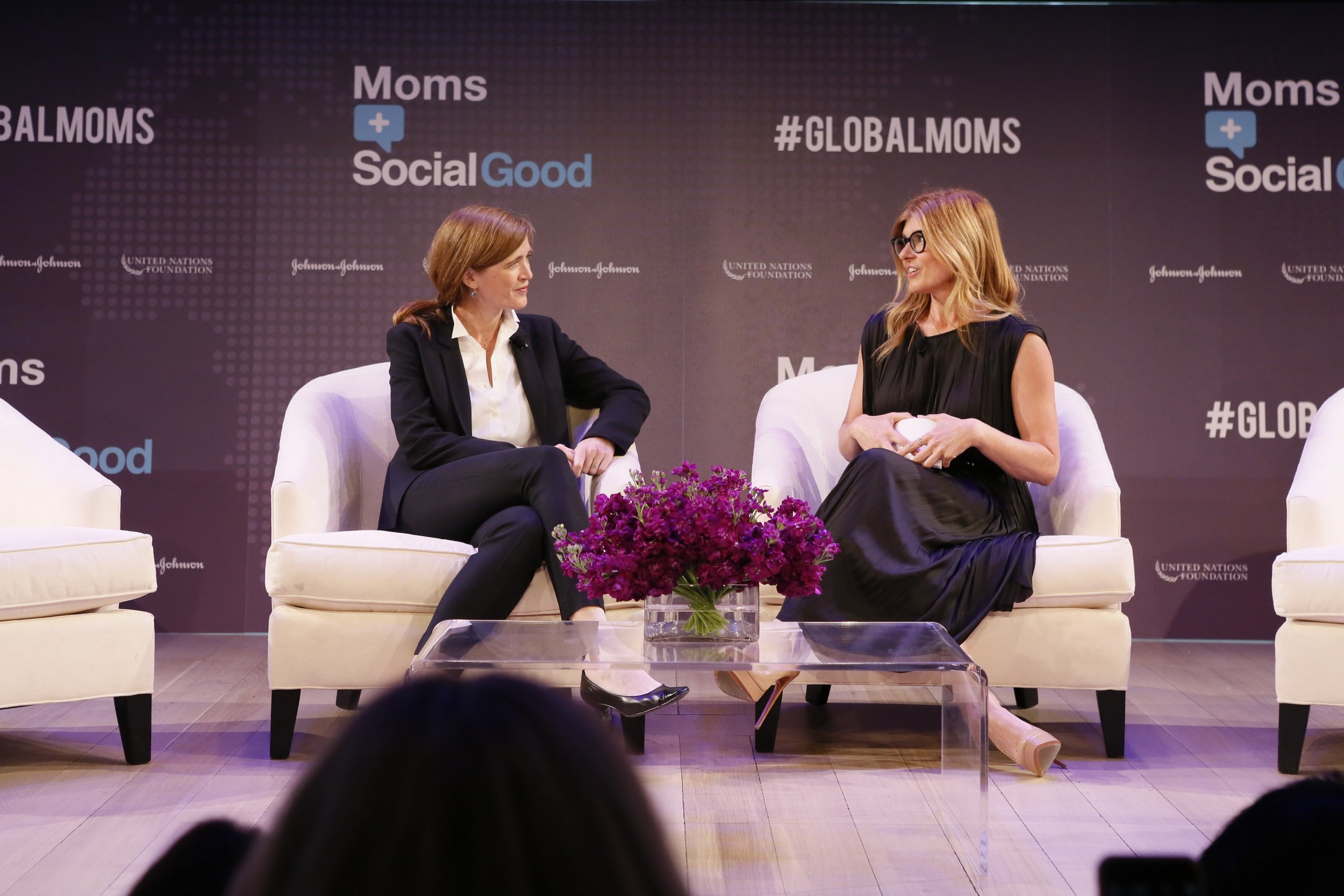 Connie Britton at UN Foundation Moms+Social Good event in NYC
