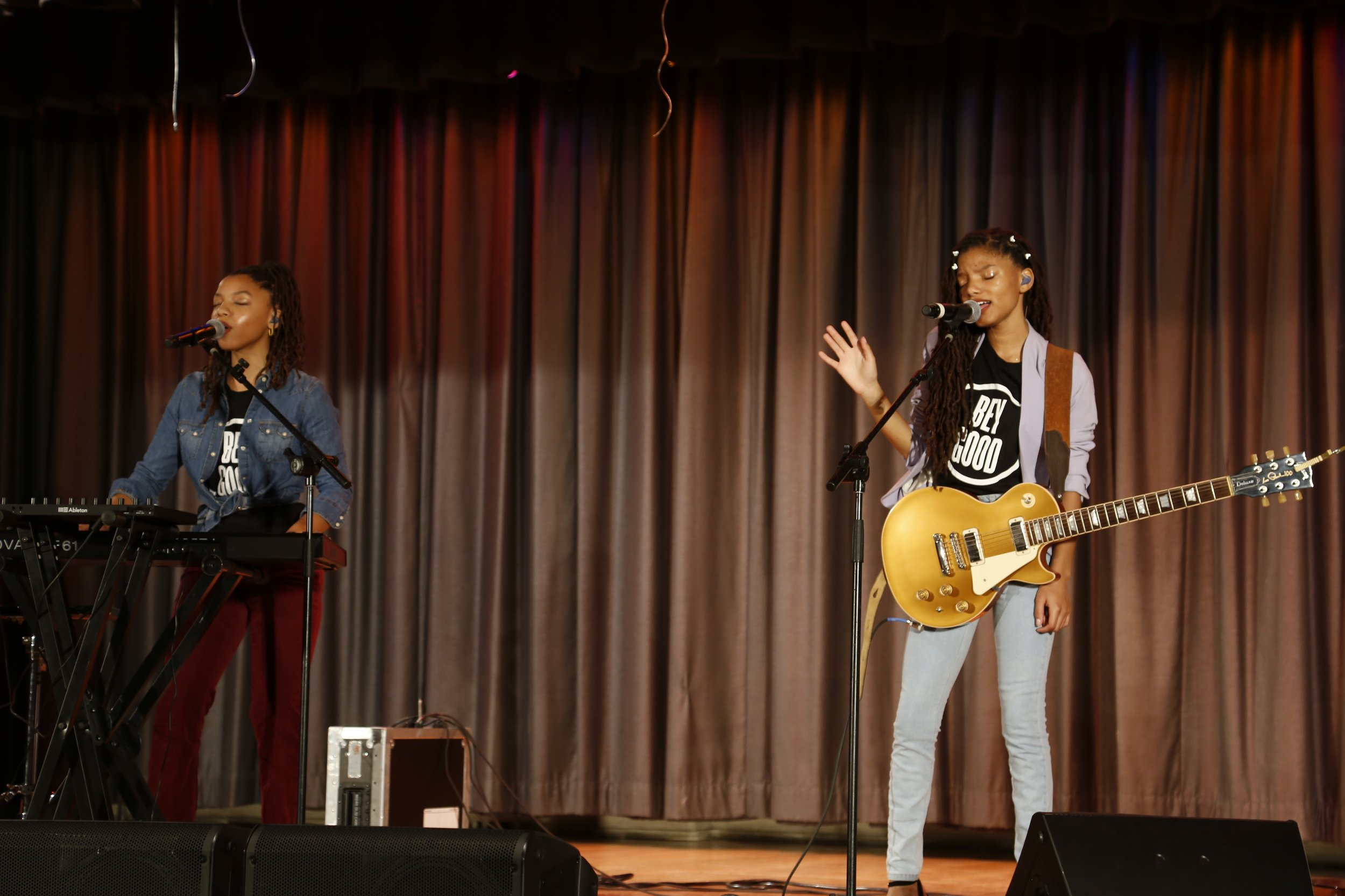 Chloe x Halle perform at VH1 Save the Music Foundation Event