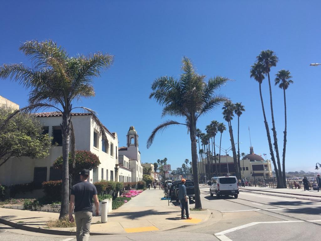 The Santa Cruz vibe is worthy of a walk.