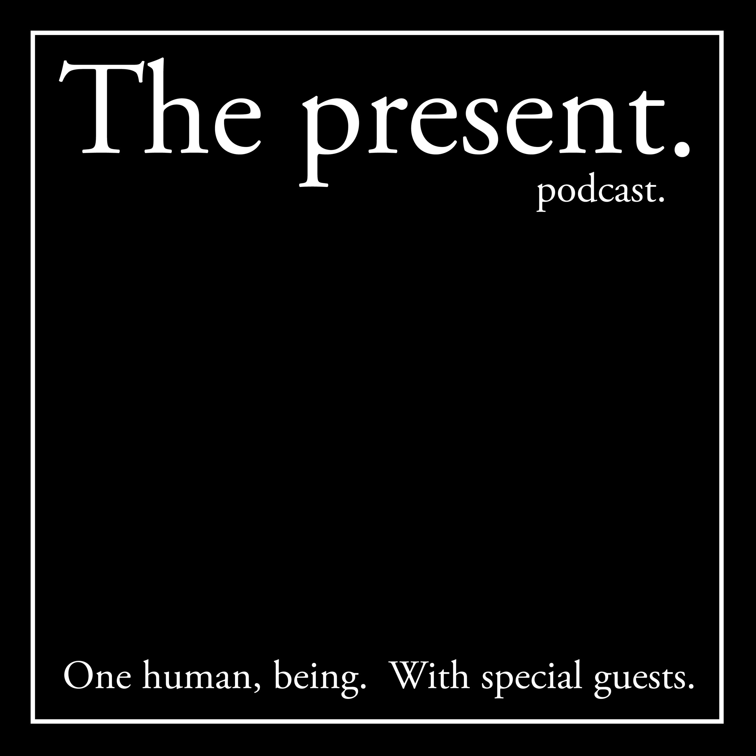"The present podcast. - A podcast documenting the conversations that take place between me + the people who sign up online to participate in ""The present.""; An ongoing series of live, interactive projects where I live my life publicly + sell all of my material possessions as works of art. - Artist, conceptual, performance, artwork, creative, creativity, creation, create, by contemporary conceptual life artist Norberto Rodriguez.  CVO of NORBERTO inc. and IP division, Director of Museum of Meaning (MoM), Founder of A School of Thought."