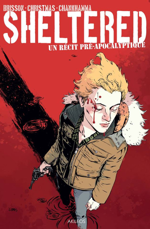 Sheltered Volume 1   Dec 24, 2013   by  Ed Brisson (Co-creator, Author), Johnnie Christmas (Co-creator,Illustrator),Shari Chankhamma (Colorist),Nate Piekos (Letters)