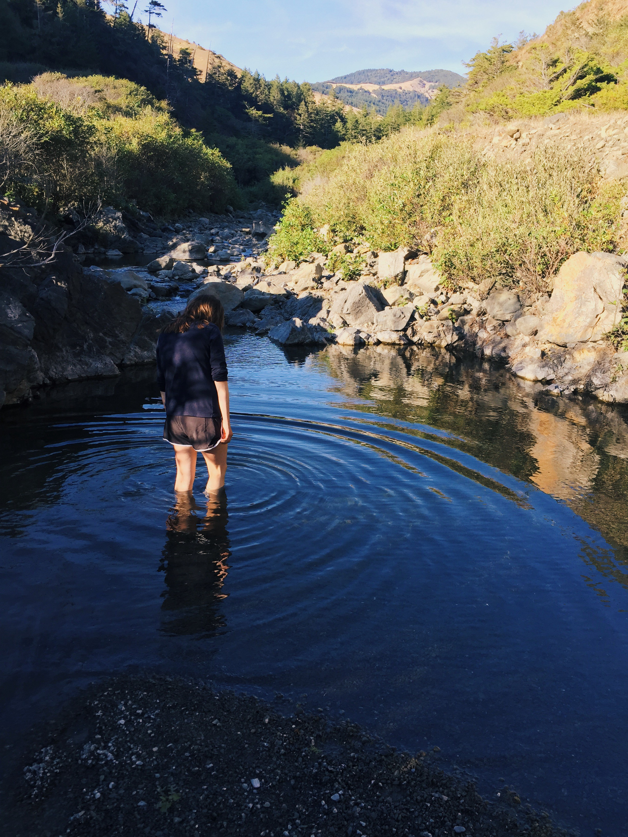 Swimming hole at Coosksie Creek
