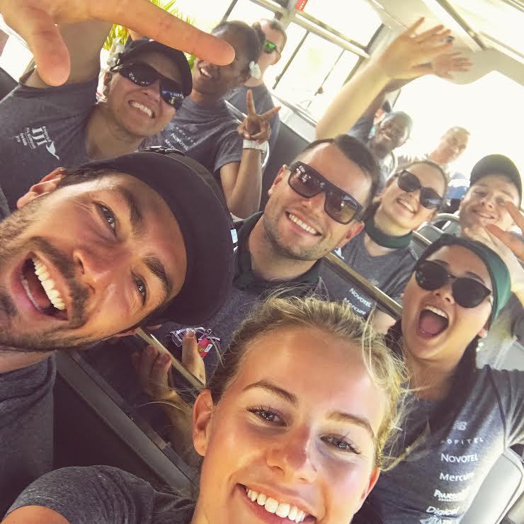 Team Dakuwaqa selfie