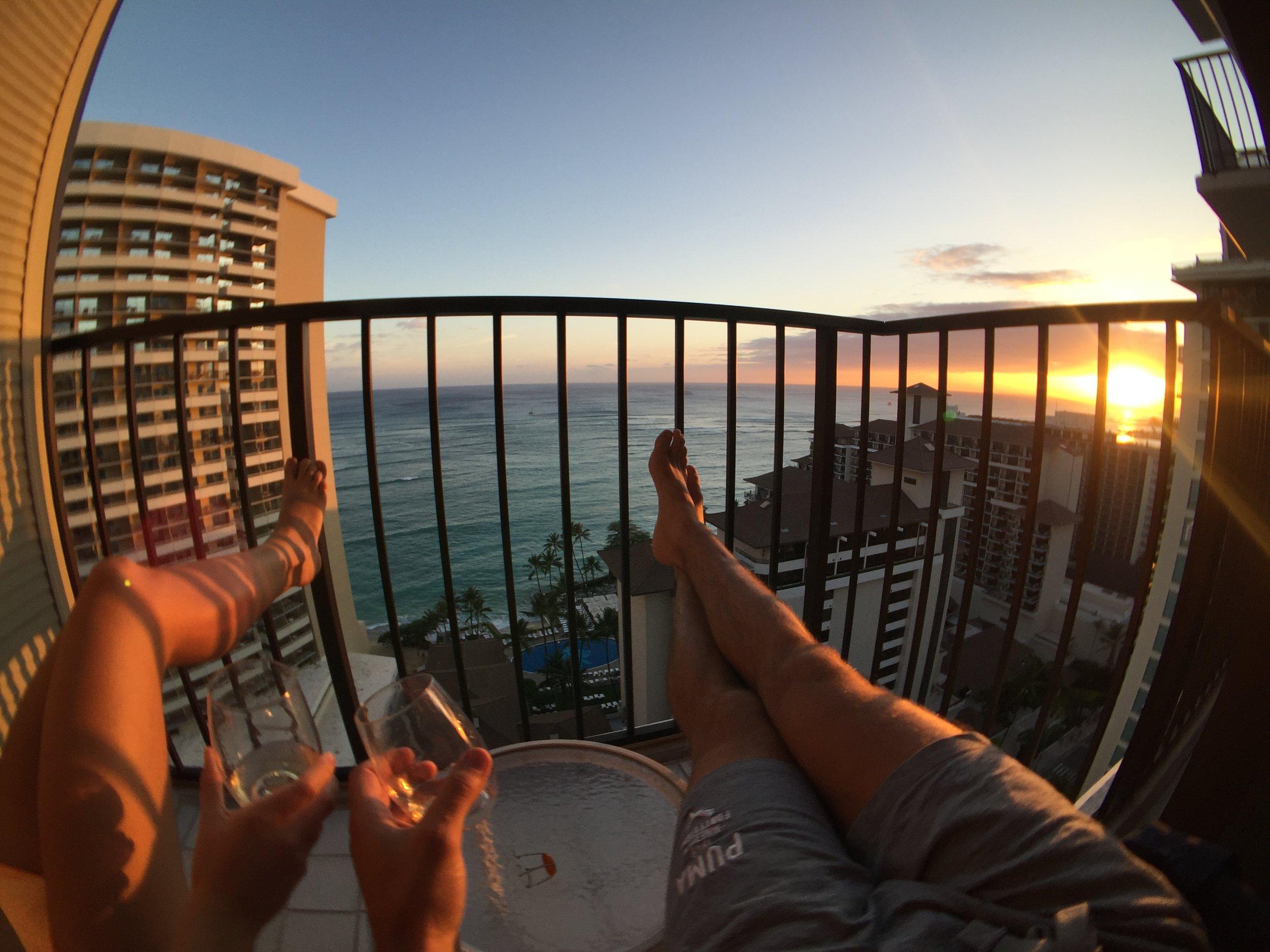 Those Hawaiian sunsets though...