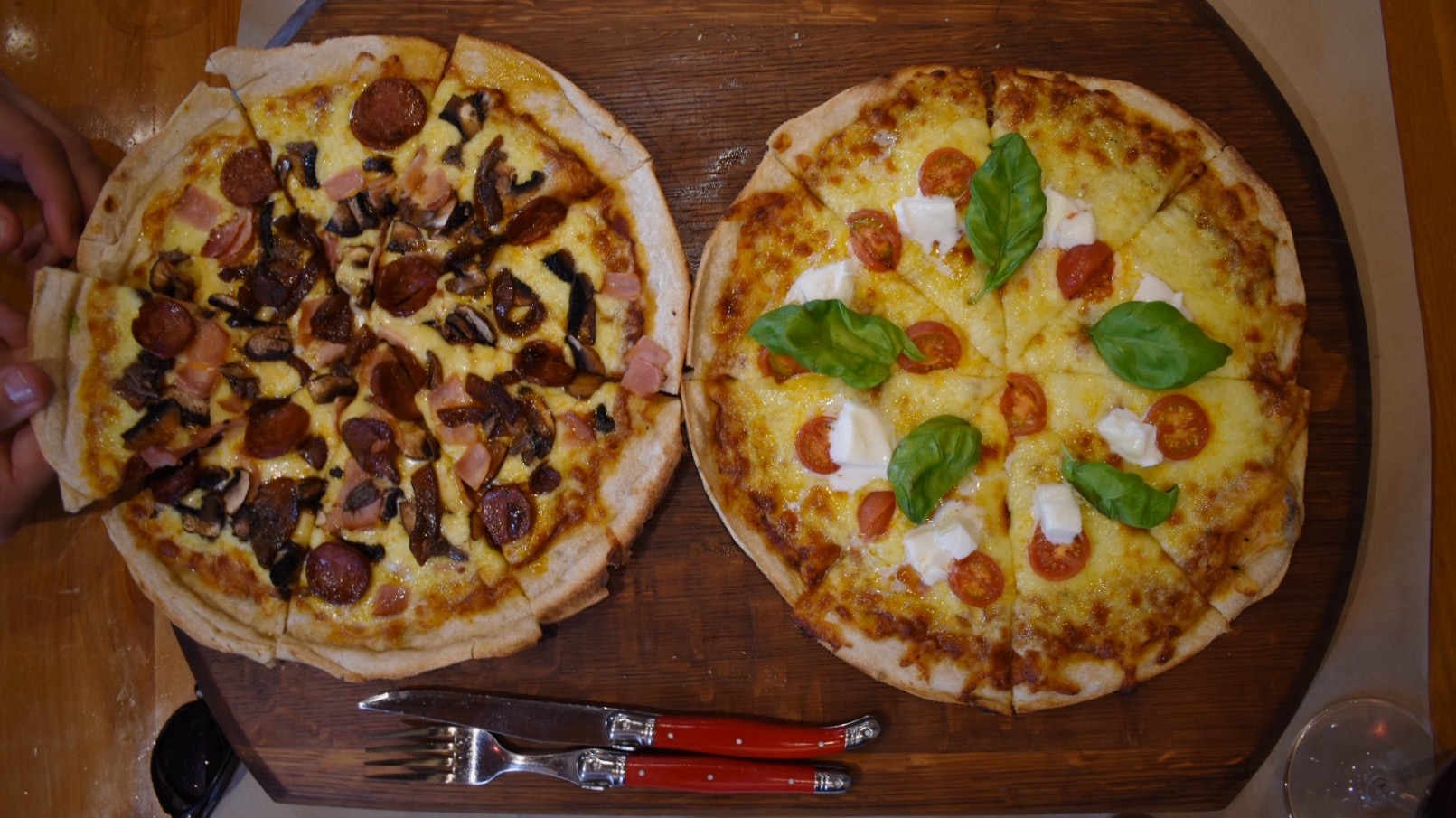 Food item #1459380329840 consumed on the weekend. How good are woodfired pizzas though?!