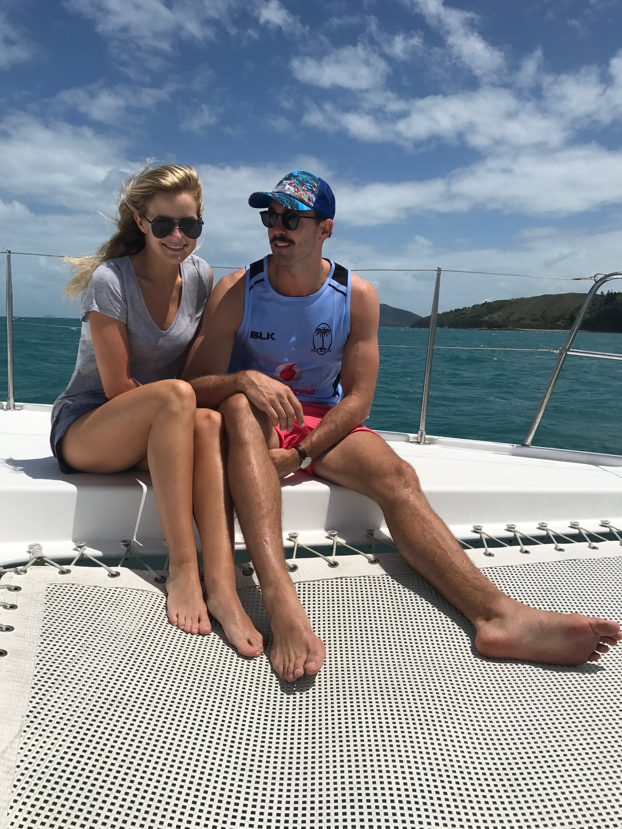Boating on Hamilton Island