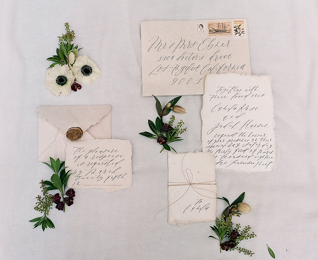 Before-Wedding Services - •Calligraphy Save the Dates•Wedding invitation suites• RSVP cards• Envelope Addressing•Custom Return Address StampsI'm interested in this!