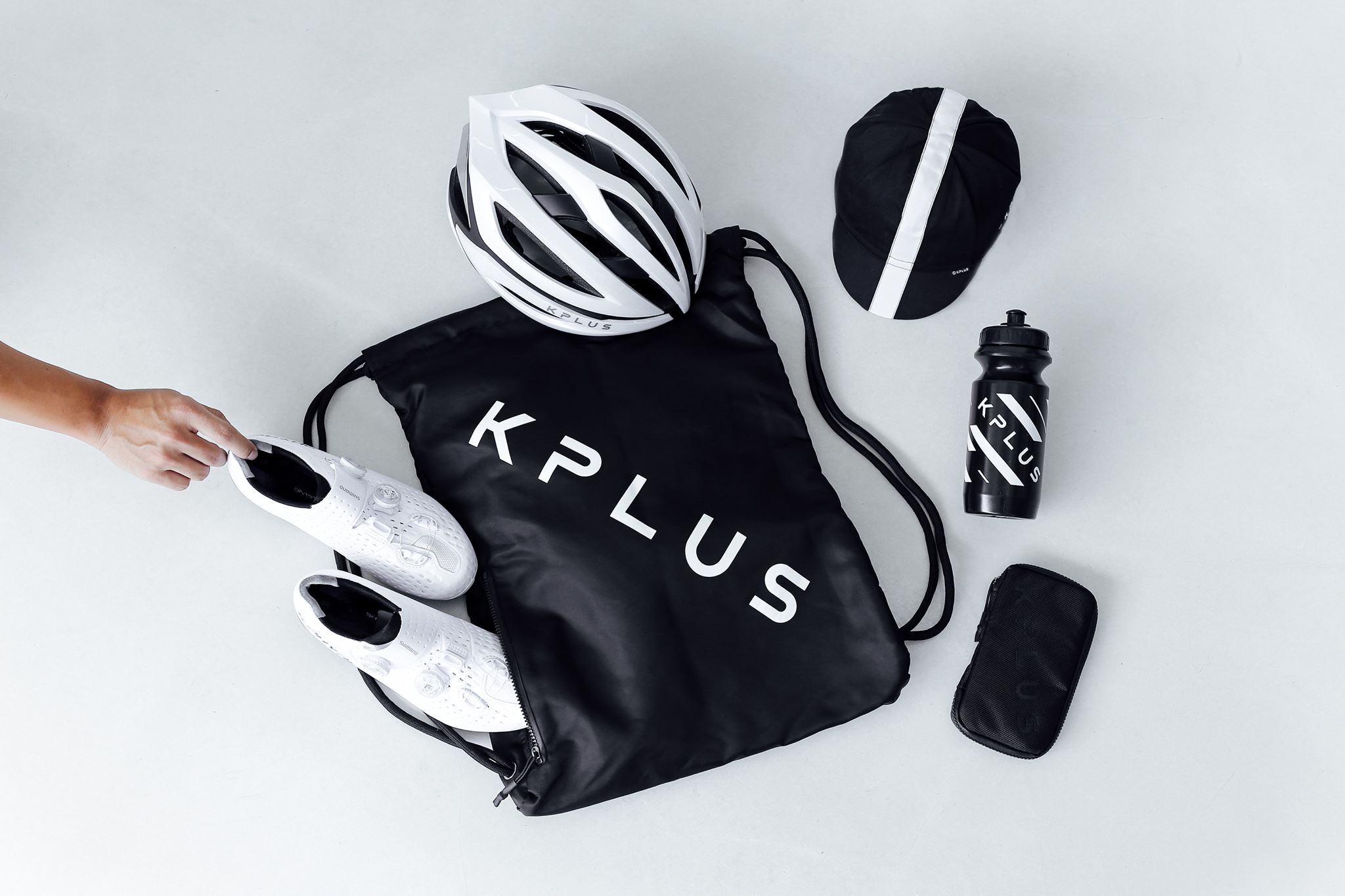 Purchase of KPLUS Surevo Lava Red and Aurora Blue will include KPLUS Sports bag and Cycling Cap, valid until 30/9/17.