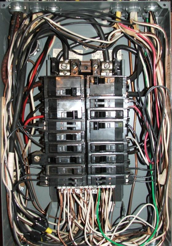 Bad Electrical Panel