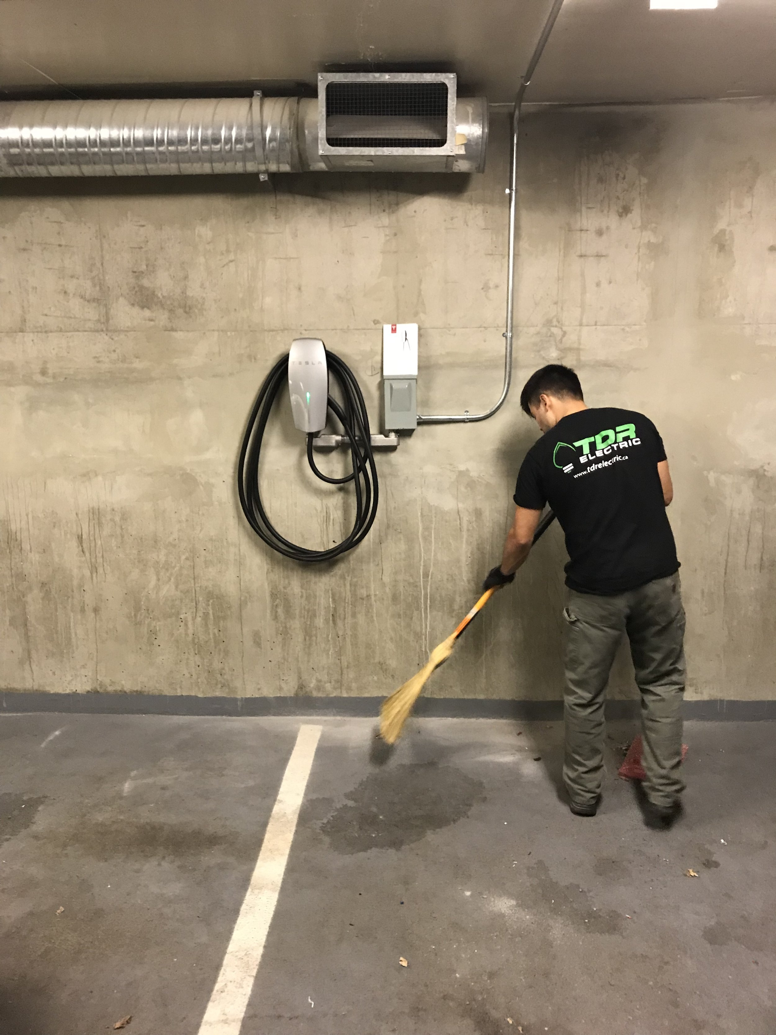 Tesla Charger Installation Vancouver