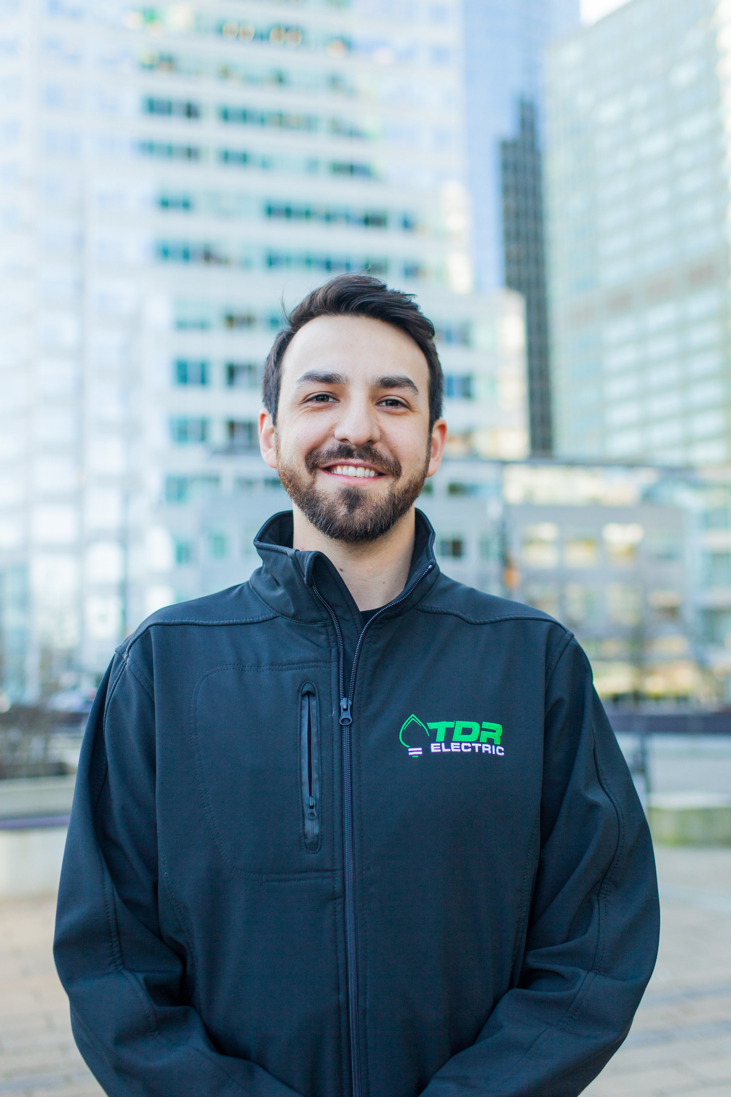 - Liam is one of our Project Managers at TDR Electric and is also a certified Journeyman. He completed his apprenticeship at BCIT in Vancouver, BC and offers 7 years of electrical experience, leadership and communication skills.Liam's ability to make decisions quickly and efficiently allows him to work on a mixture of projects including residential, commercial and specialty work. Liam is always looking for a challenge to further better his knowledge in the trade and stays current in the field which allows him to provide the best service to clients and TDR. He is currently taking courses to become a Class B Field Safety Officer. Outside of work Liam enjoys spending time outdoors including playing golf, baseball and softball. He is currently in search of a dog companion.
