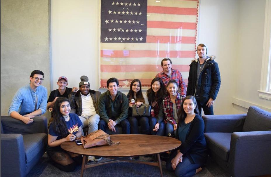 MA members at Swirl headquarters in the Presidio of San Francisco.