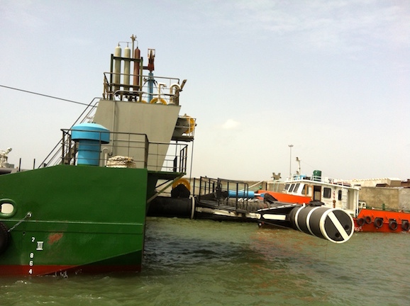 WID, Water Injection Dredger, flushing and piping, dredging