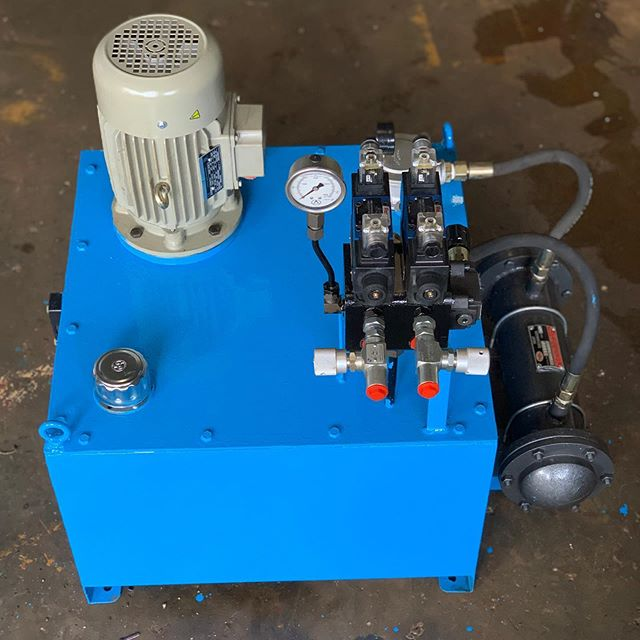 Hydraulic Power Unit  To know more about what we do check out link on our Instagram page  #hydrauliccompany  #hydraulics  #actuators