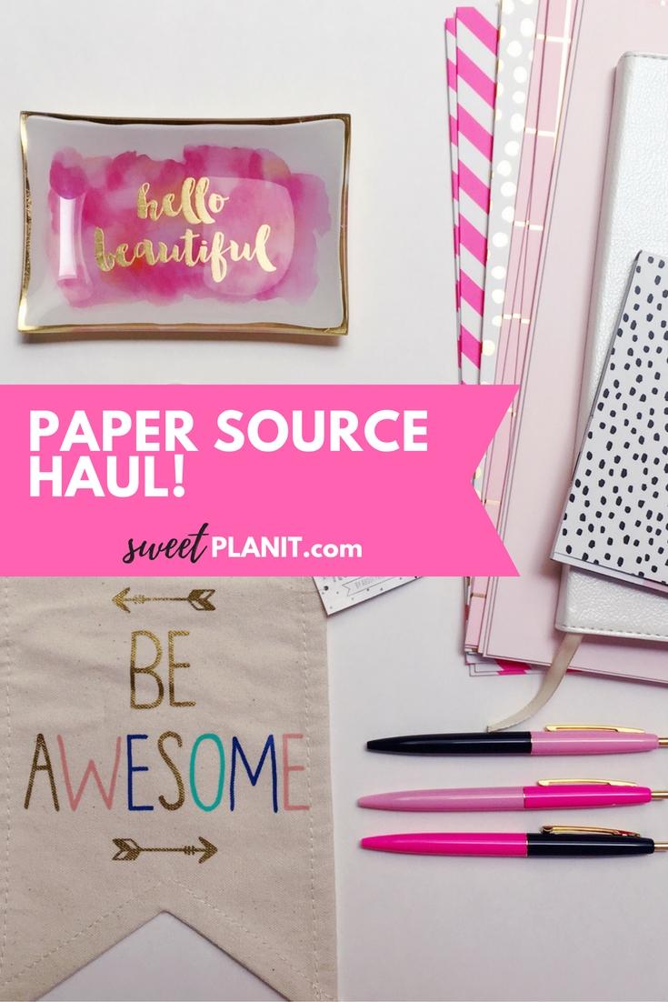 Paper Source Haul | My Favorite Desk Accessories!