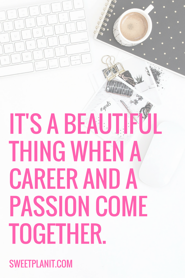 Inspirational Quote: Career and Passion