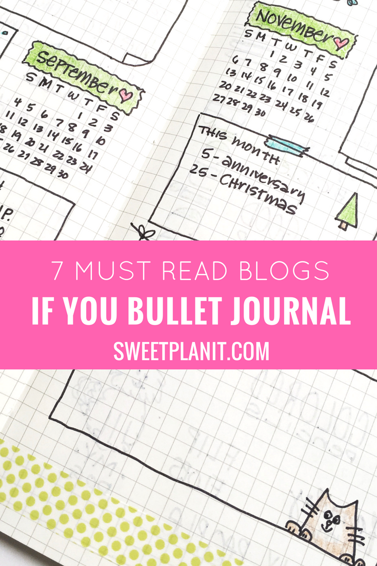 7 Must Read Blogs if you Bullet Journal