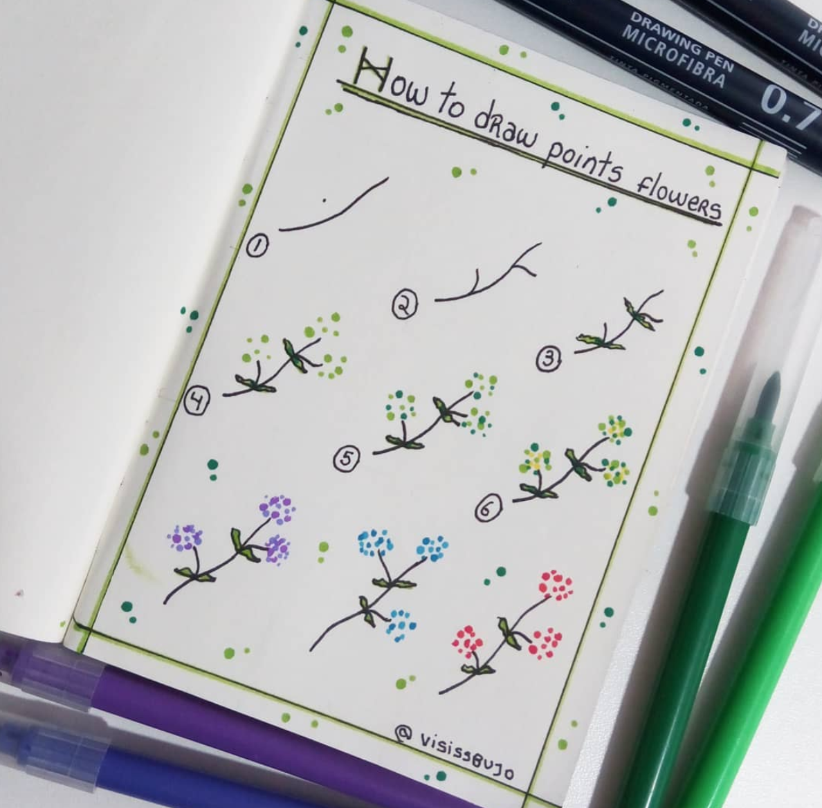Yes! You can draw. Add cute plants and other doodles to you notebook or planner with these fun tutorials at Sweetplanit.com