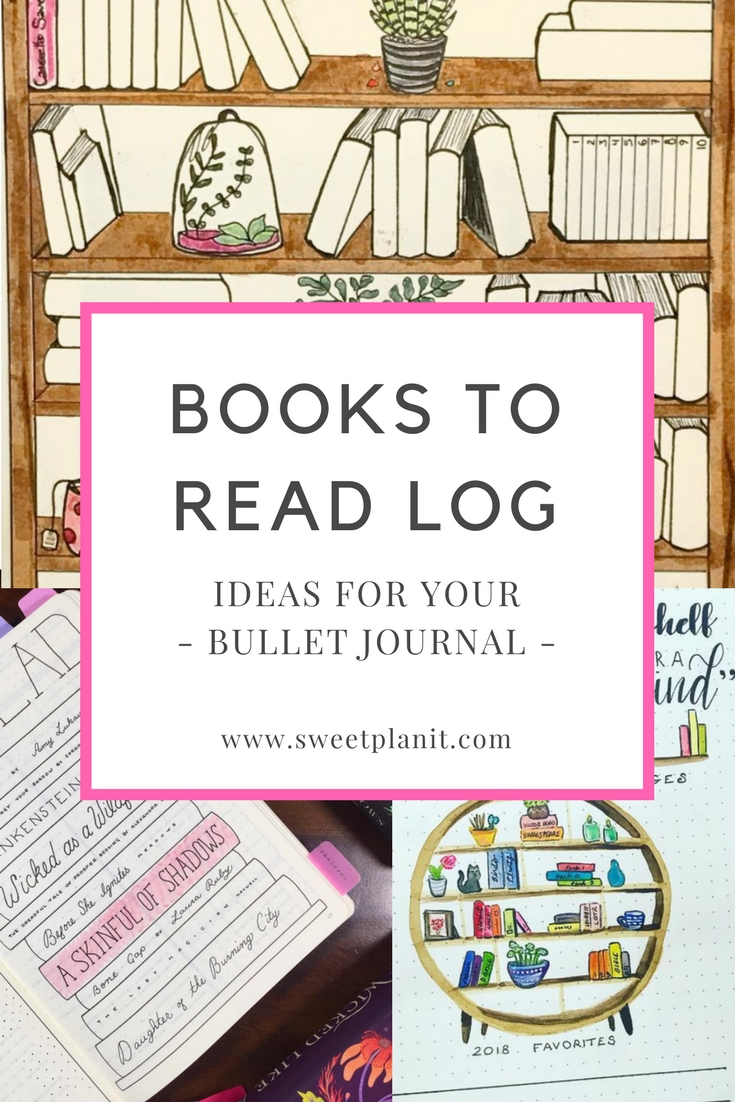 Bullet journal books to read trackers. Find out why you need a reading log in your bujo and how to make one!