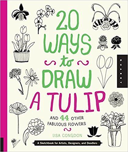 20 Ways to Draw a Tulip