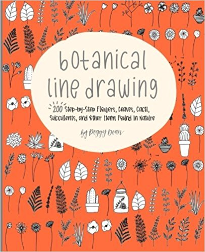 Botanical Line Drawing: Nature