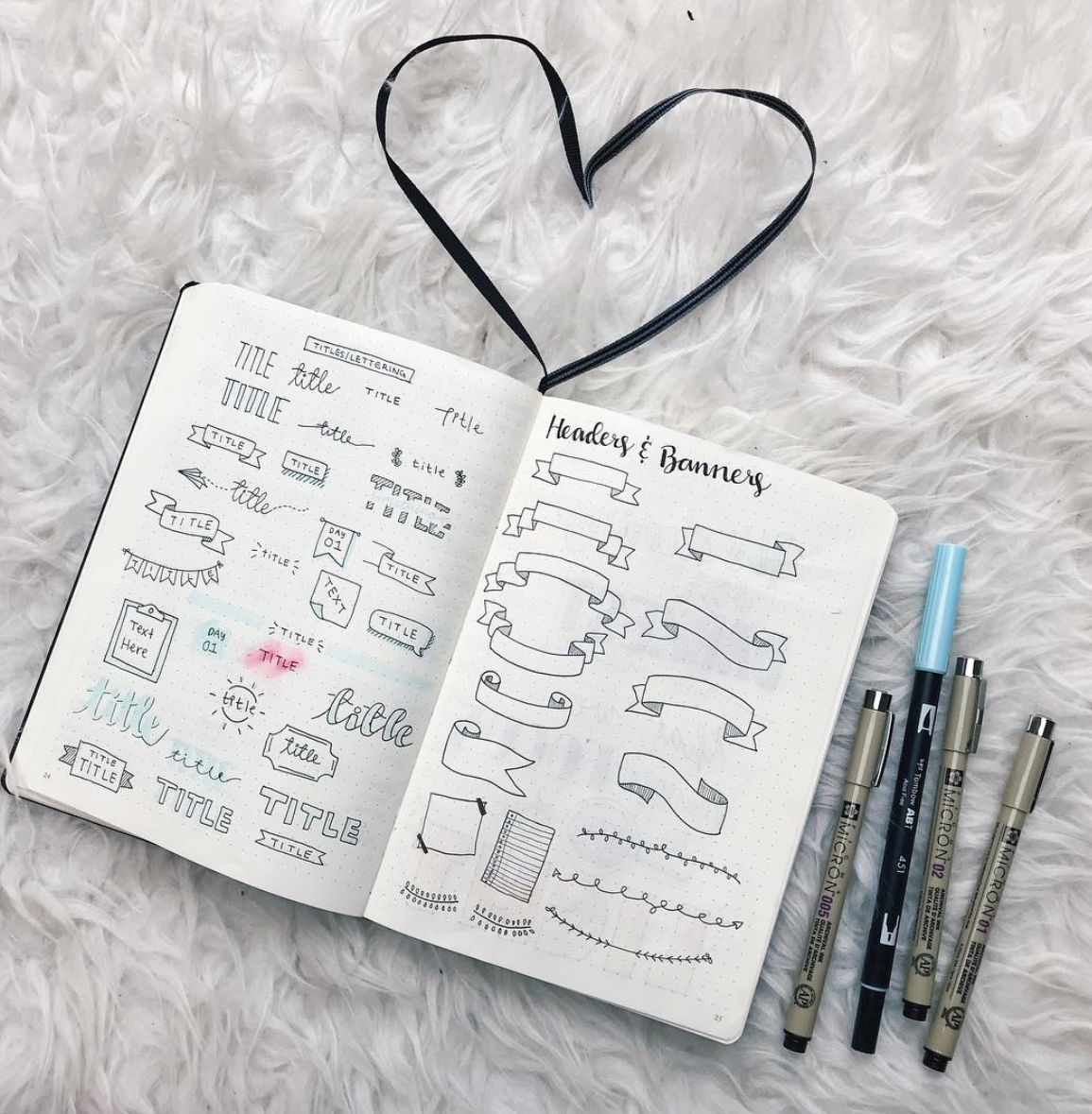 Hundreds of Awesome Bullet Journal Headers — Sweet PlanIt
