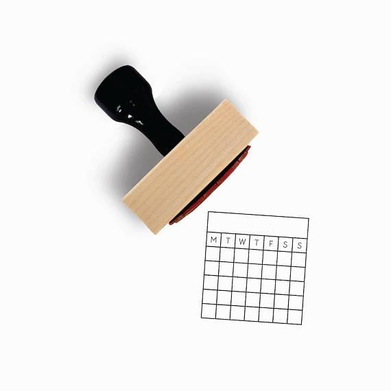 Habit Tracker Stamp