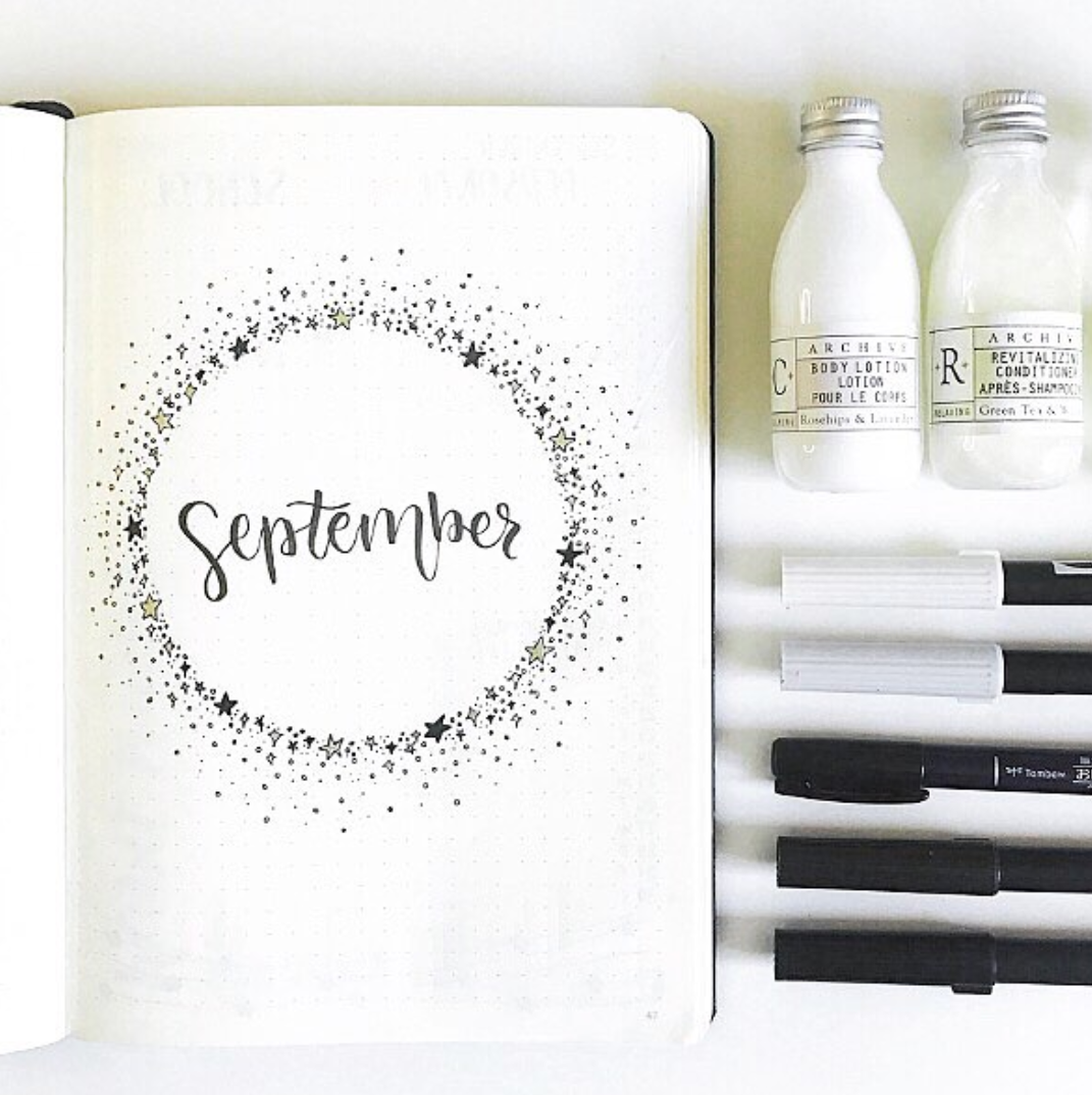 September Bullet Journal Layouts to Try