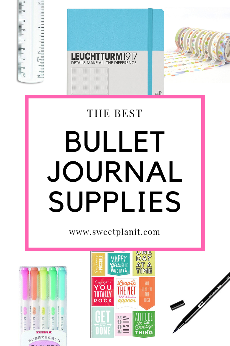 The Best Bullet Journal and Planner Supplies