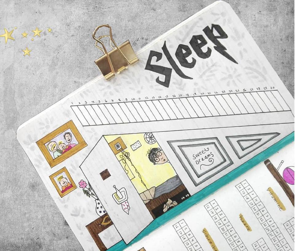 Bujo Trackers: Track your Sleep!