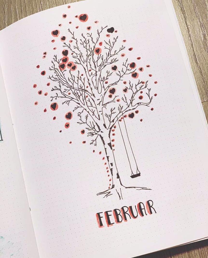 Fabulous February Bujo Ideas