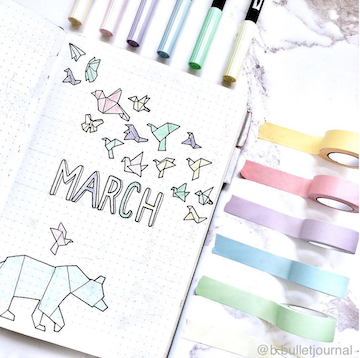 Bullet Journal Monthly Spread Ideas You Can Make