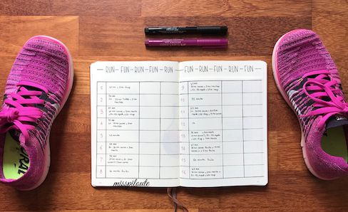 How to Make a Bullet Journal for Running